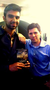 Me with Max Brooks