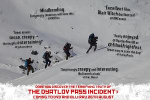 HMZFilm featured in Dyatlov Pass Incident poster