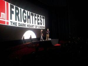 Gareth Evans on stage