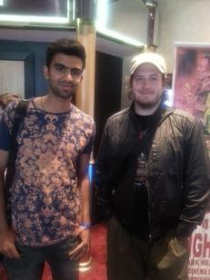 Me with Gareth Evans