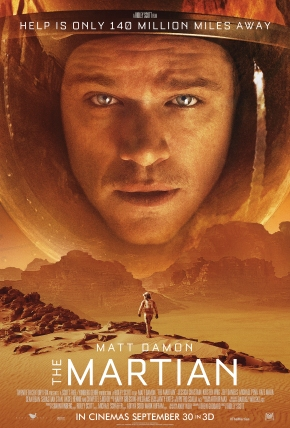The Martian Launch One Sheet- copyright Empire